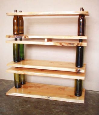 recycled-bottles-DIY-wine-shelves
